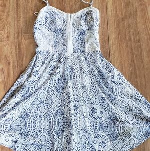 Aero Fun lace and paisley summer dress